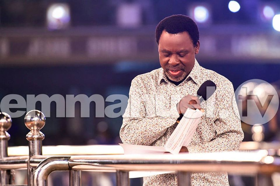 PROPHECY FOR 2020 – PROPHET TB JOSHUA!