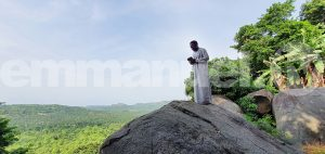 PROPHET T.B. JOSHUA AT THE PRAYER MOUNTAIN